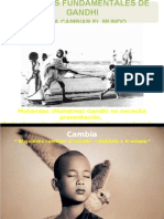 10 Frases Fundamentales de Gandhi
