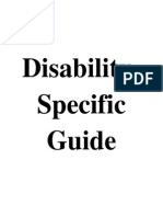 disability-specific guide