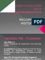 HISTORIA DE LA EVALUACIÓN.ppt