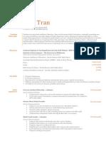 cv resume - judy tran - heathdale