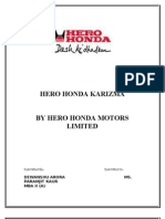 Hero Honda Karizma by Hero Honda Motors Limited