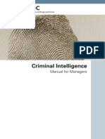 Criminal Intelligence for Managers