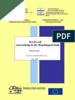 Matlab - Anwendung in Der Regelungstechnik