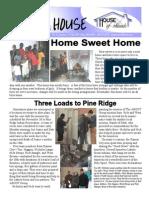 House of Friends newsletter December 2009