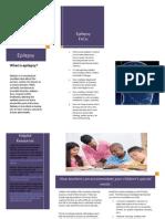 epilepsy brochure