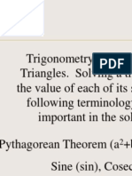 Trigonometry by eric zhao