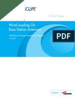 Wind Loading-Base Station Antennas White Paper TP- 103194