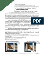 Study of Scapular Measurements and Scapular Indices of Andhrapradesh Region
