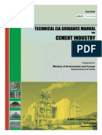 Cement guidelines