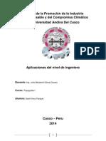 Aplicaciones del Nivel de Ingeniero.docx