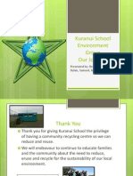Kuranui School Environment Group