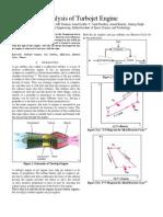 AE 431 Analysis of Turbojet Engine_edited