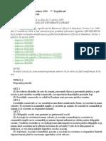 Legea 31 Republicata 2009