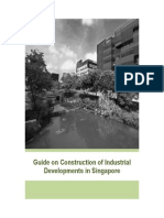 Guide on Construction of Industrial Developments in Singapore