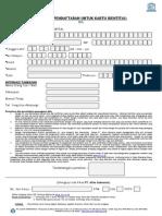 Form Aplikasi Isic