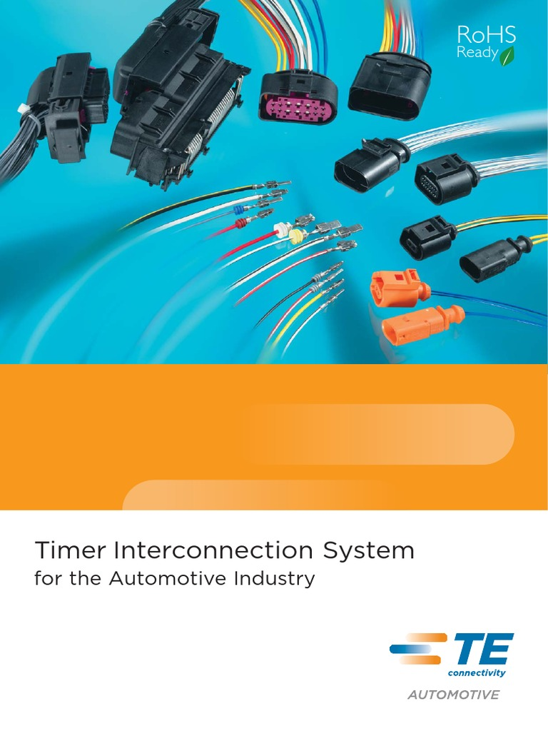 AMP-Timer_Interconnection.pdf | Electrical Connector | Cable