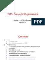 Computer Organization Lecture 03