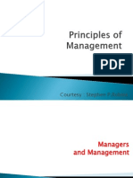 Principles of Management PPT Midterm