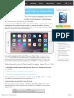 Comment profiter des films loués d'iTunes sur iPhone 6 Plus