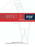 GourmetToGo Food Delivery