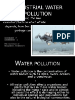 Industrial Water Polluion