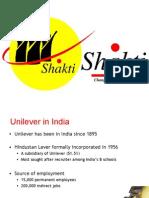 Shakti - Project HUL