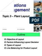 Topic 4- Plant Layout