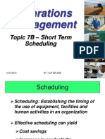 Topic 7B-Short Term Scheduling