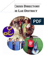 Family Crisis Directory of Lae