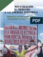 [Guatemala] La privatizacion del derecho a la energia electrica