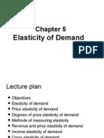 Elasticity of Demand