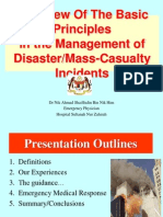 TLS Basic Principles in Disaster