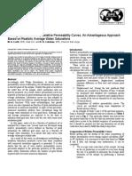 SPE 69394 Relative Permeability Upscaling