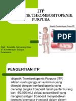 ITP (Idiopatik Trombositopenik Purpura)