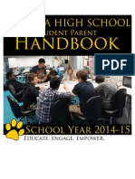 student parent handbook 2014-2015