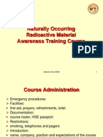 NORM Awareness Course