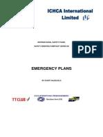 ICHCA part 6 Emergency Plans