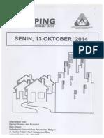 Kliping Berita Perumahan Rakyat, 11, 12 & 13 Oktober 2014