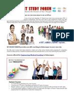 IIT,JEE,AIEEE,NEET,Engineering/Medical Coaching Study Courses in Saharanpur - IIT Study Forum