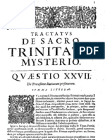 CT [1642 ed.] t1b - 01 - Tract. De Sacro Trinitatis Mysterio, Q 27, De Processione divinarum personarum