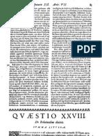 CT [1642 ed.] t1b - 02 - Q 28, De Relationibus Divinis