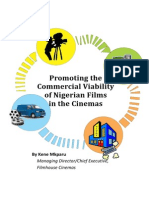 Promoting the Commercial Viability of Nigerian Films in the Cinema