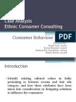 Ethnic Consumers Consulting case study