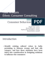 Ethnic Consumers Consulting case study