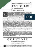 CT [1642 ed.] t1b - 13 - Q 59-63, De voluntate, amore, productione, perfectione, De Malitia