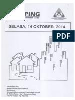 Kliping Berita Perumahan Rakyat, 14 Oktober 2014