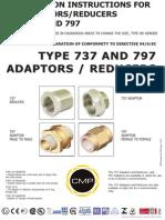 CMP Type 737 & 797 Reducer & Adaptor