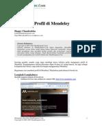 HCandraleka__Membuat Profil Di Mendeley