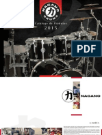 Catalogo NAGANO DRUMS 2015