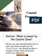 coastal processes - lesson 1